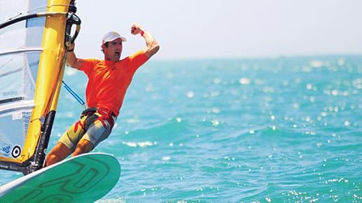 Bimba Uma história de dedicação e solidariedade ao Windsurf