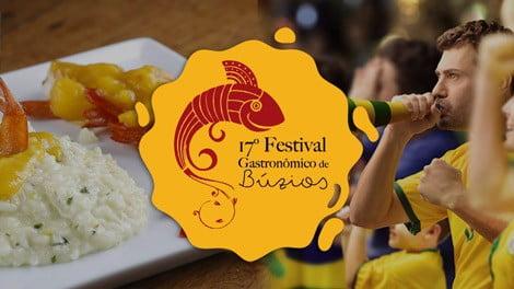 Festival Gastronômico, Copa do Mundo e Férias: escalação infalível!