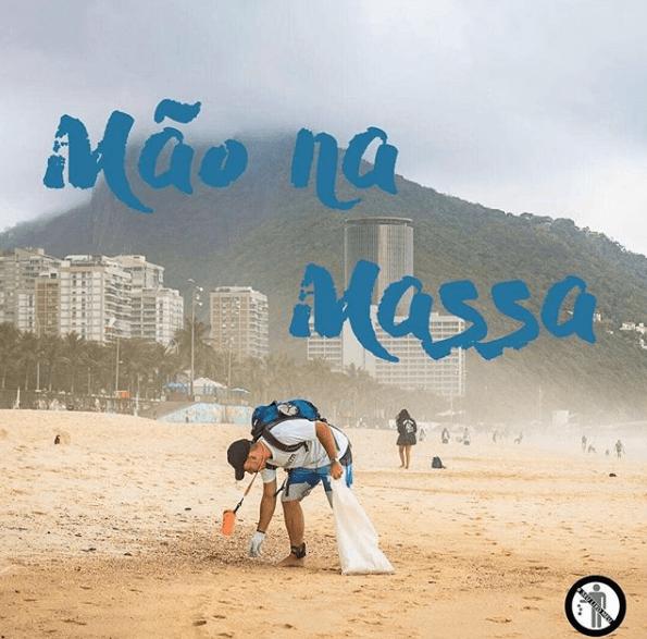 Praias de Geribá e Manguinhos recebem ação de limpeza