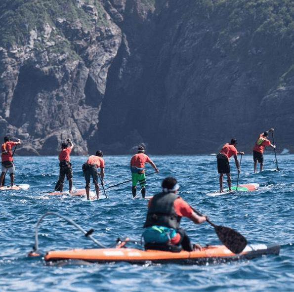 Búzios recebe competições de SUP, canoa e natação em novembro