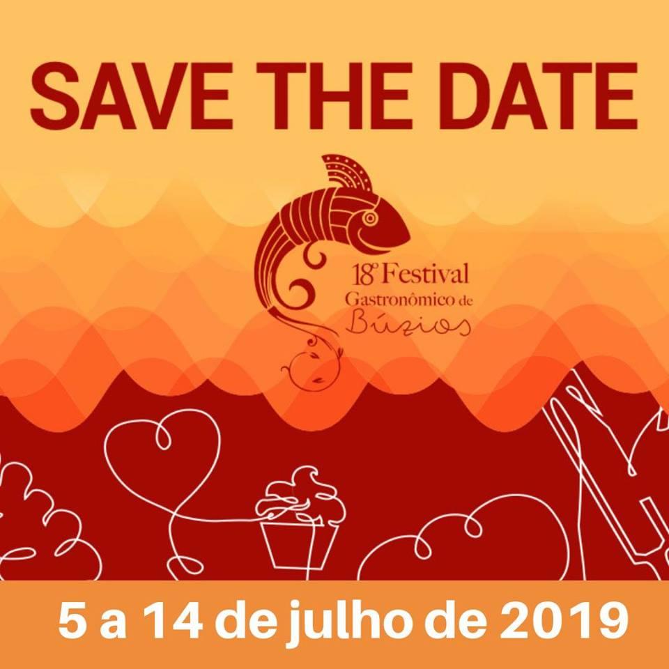 Vem aí a 18ª edição do Festival Gastronômico de Búzios