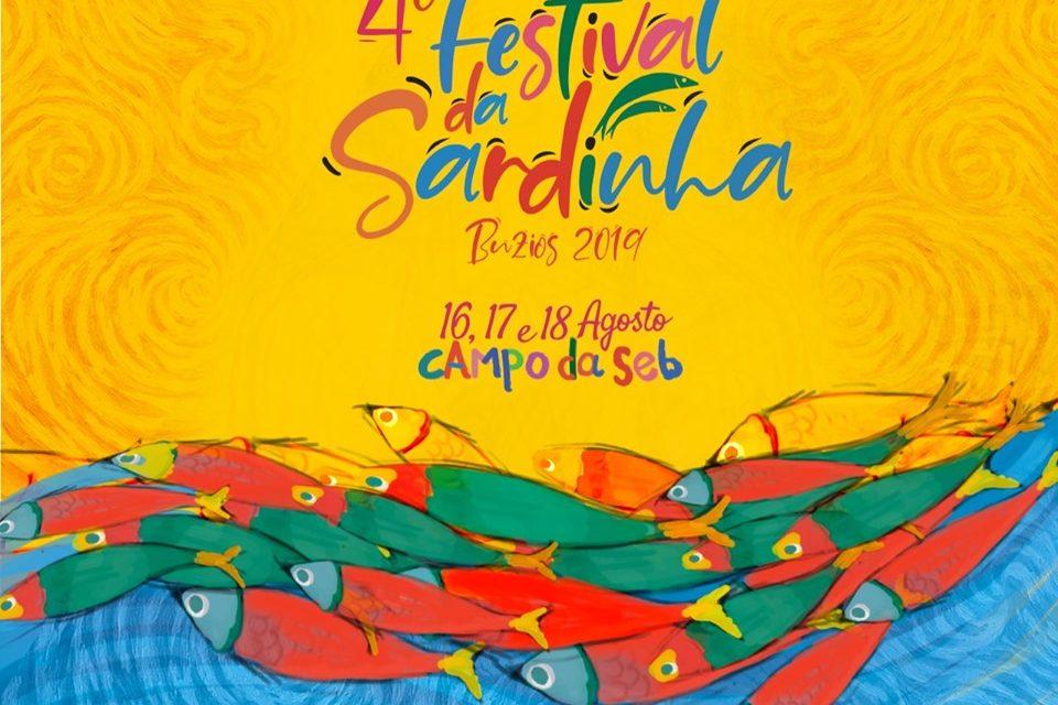4º Festival da Sardinha agita Búzios neste fim de semana