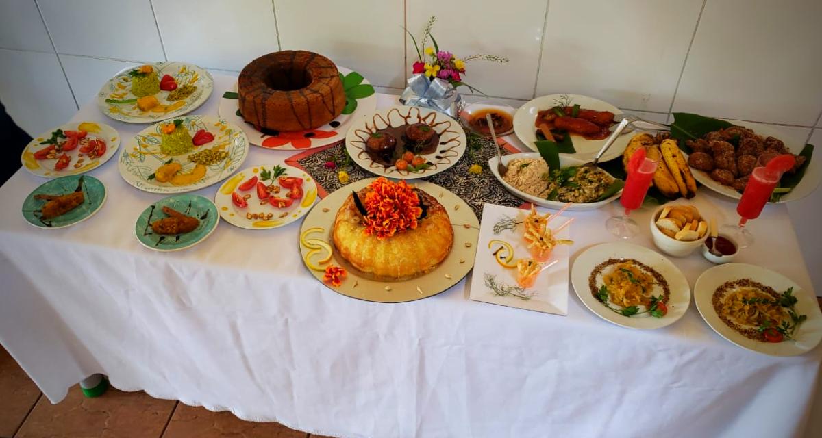 Creche Bárbara Wright usa gastronomia para debater sustentabilidade