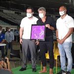 Revitalização da calçada da fama do Maracanã
